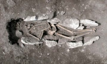 Ancient skeleton may confirm Greek sacrifice legend