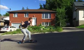 Can you keep up with this jet-powered longboard from The Hacksmith