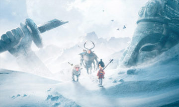 Kubo and the Two Strings snow