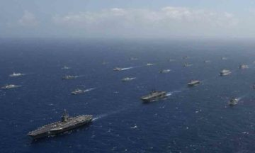 A view of RIMPAC, the world's biggest navy training exercise