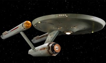 Restoring the original USS Enterprise