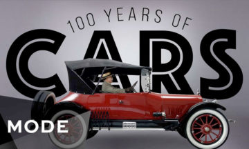 Take a look at 100 years of cars by Mode