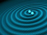 A visual illustration of gravitational waves