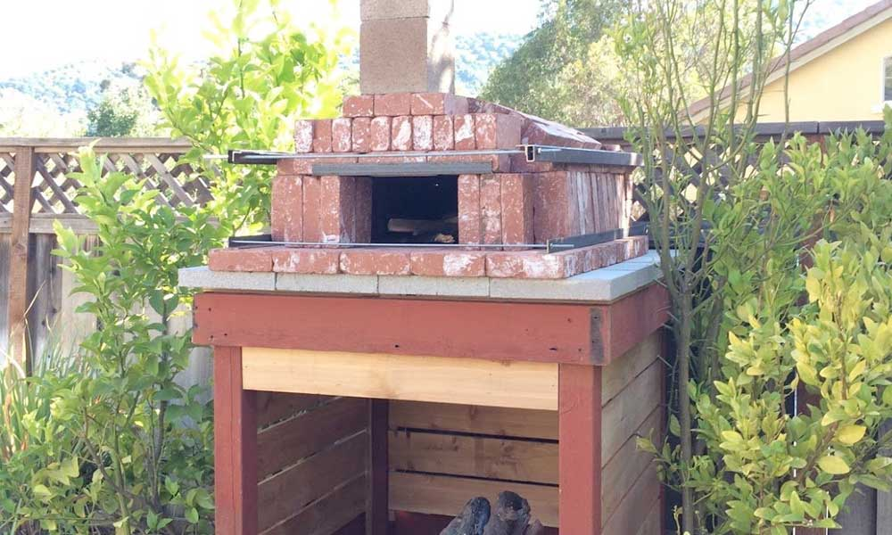 Build A Wood Fired Pizza Oven In Your Backyard popular mechanics