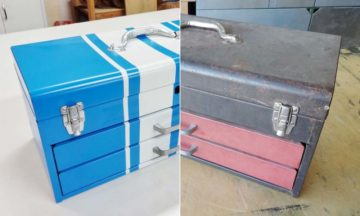 How to restore a rusty toolbox