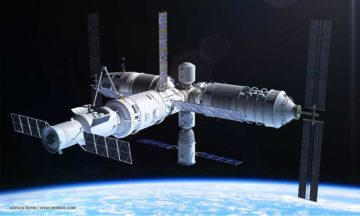 Tiangong-1 space station is falling back to Earth
