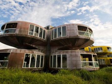 Taiwan's abandoned Sanzhi pod houses