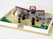 Lego pop-up book by JK Brickworks