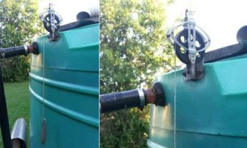 How to easy monitor water tank levels - Tip