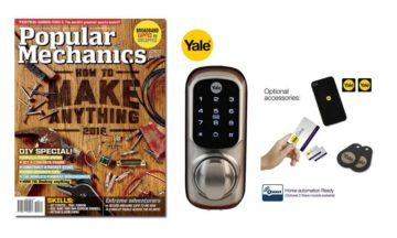 October winners of the Yale keyless connected smart lock