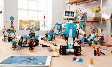 LEGO Boost brings intelligence to plastic bricks