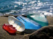 Glass beach: pollution turned beautiful