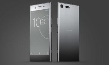 The Sony Xperia XZ Premium with Qualcomm's Snapdragon 835 processor.