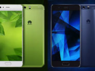 Huawei P10 and P10 Plus revealed at MWC 2017.