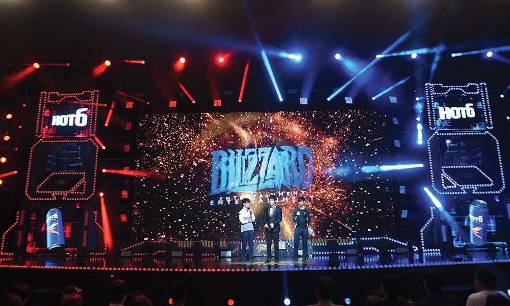 he 2016 Global StarCraft II League held in Korea.