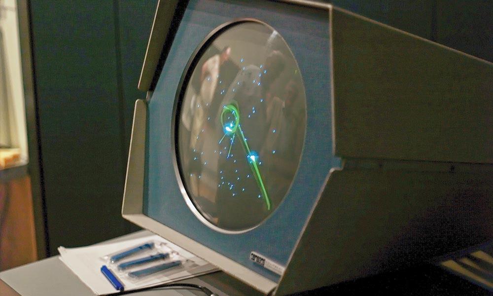 Spacewar! running on a PDP-1
