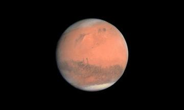 True color image of Mars