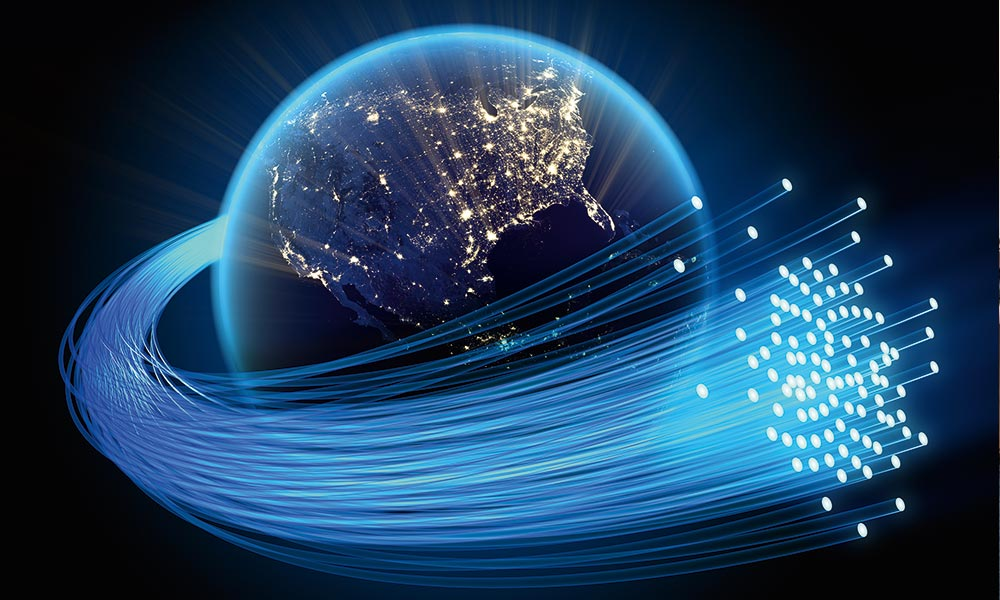 Optical communication: the message in the pattern