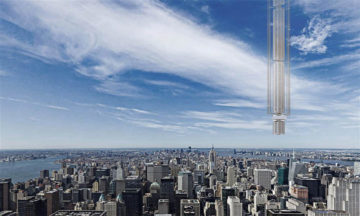 Analemma Tower: A proposal for the world's tallest building.