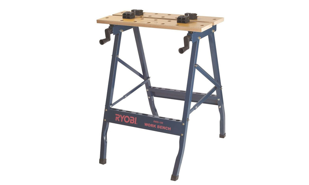 A budget version is the Ryobi work bench. It comes with clamps