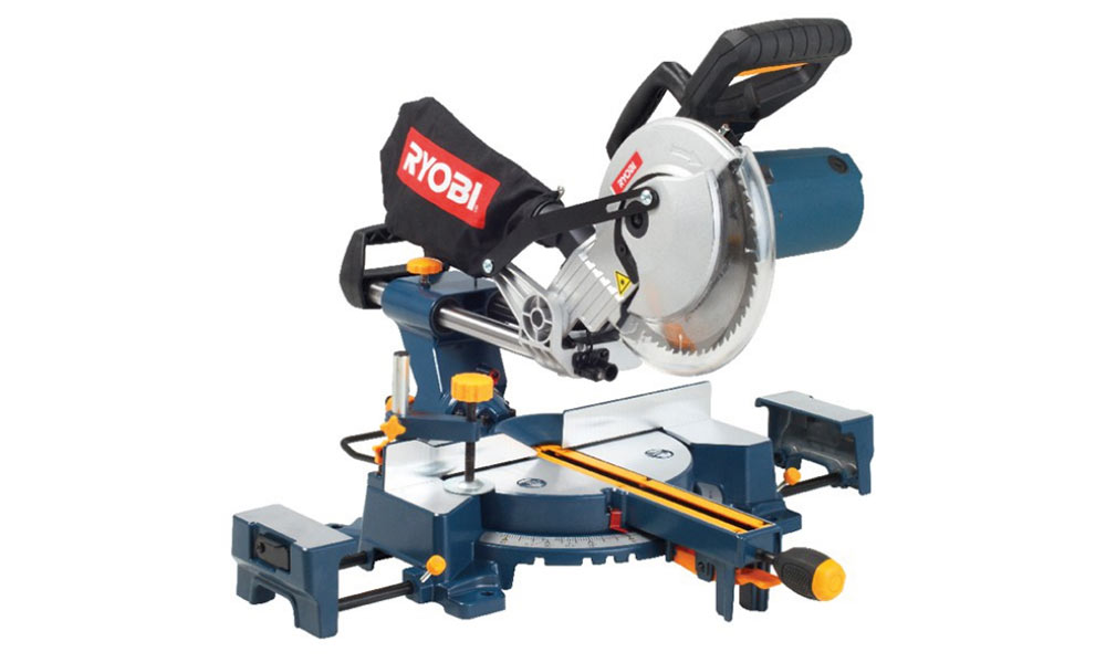 Ryobi CSS-210 - 210MM sliding compound mitre saw