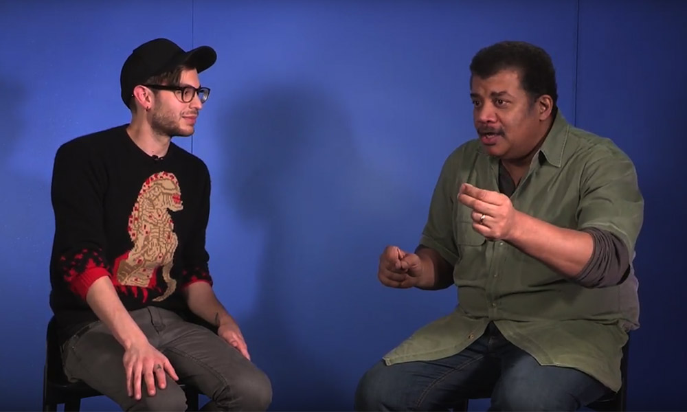 Neil deGrasse Tyson explores what time is with Vsause3