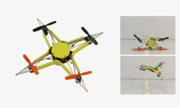 Researchers create impact resistant squishy drones