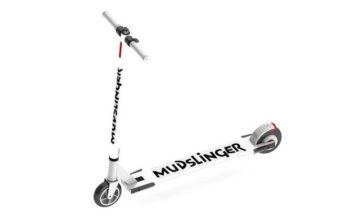 The Mudslinger electric scooter.