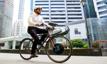 UrbanX is a sustainable mode of transport
