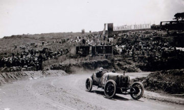 In 1914 only three Delage Type-S cars were made for the premier race in France. Racing in Europe came to a halt a month after the race started due to World War I.