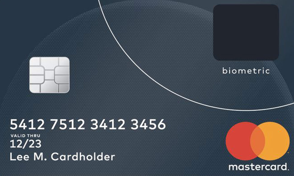 MasterCard creates biometric card