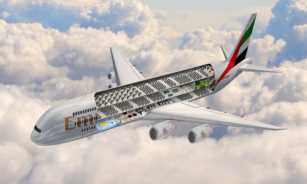Emirates triple-decker