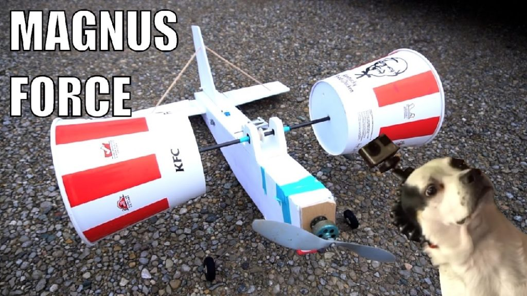 Check out the RC plane with KFC buckets for wings
