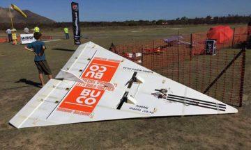 Charles Stevens RC foam plane world record