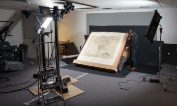 Digitizing the Klencke Atlas, one of the world's largest books