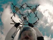 Aerones drone-diving