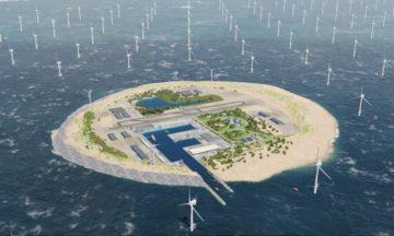 wind farm island in the North