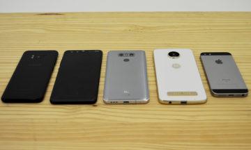 Mid 2017 smartphone comparison