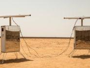 SunGlacier's Desert Twins harvester.