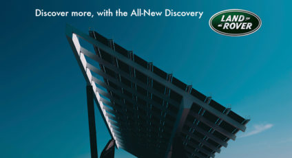 Solar power: where are we going - brought to you by the all-new Discovery