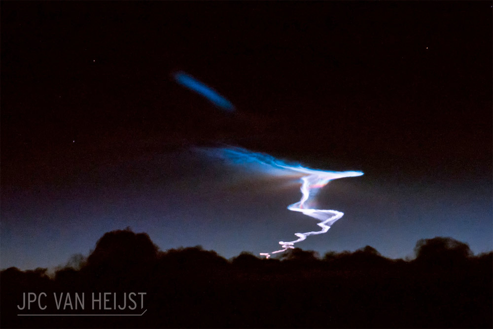 picture of China's secret missile test by JPC van Heijst