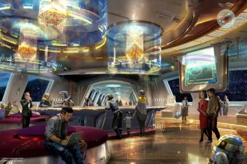 Concept Art for the Star Wars hotel