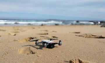 DJI Spark at the beach