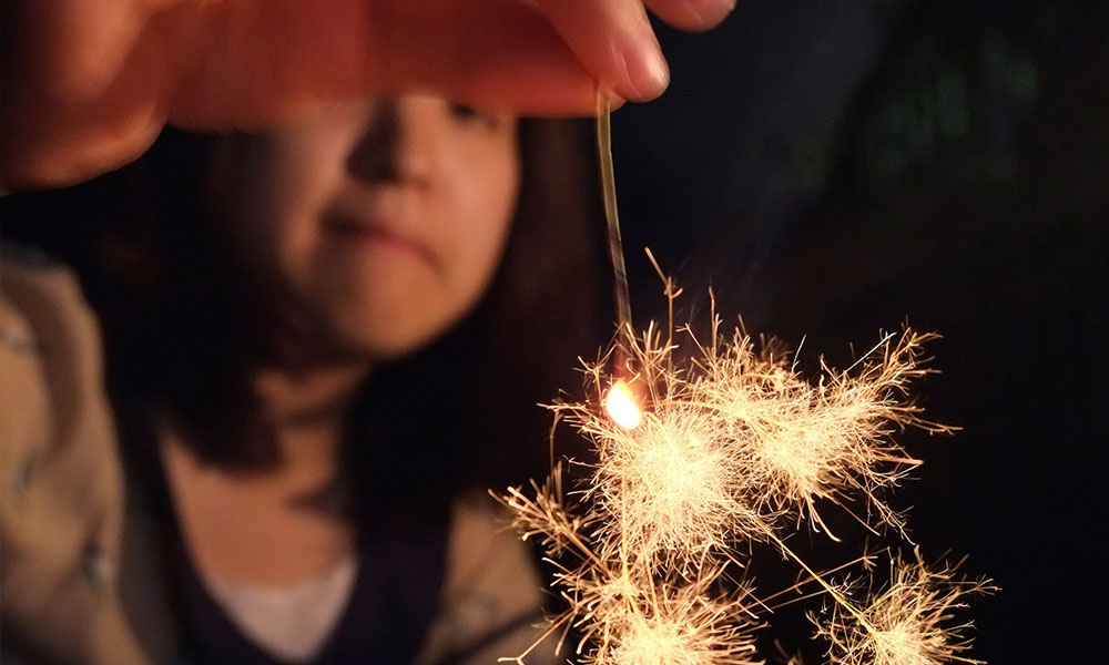Japanese sparklers by JujitsuYasai