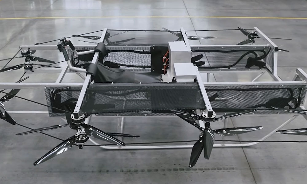 flying car drone by Kalashnikov