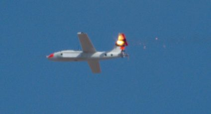 ATHENA laser shoots drones out of the sky