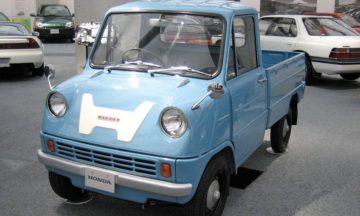 T360 truck was Honda's first car