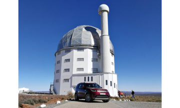 Discovery at Sutherland observatory