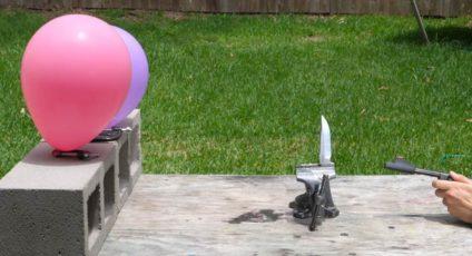 split a bullet with a sword