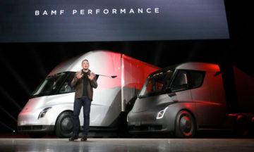 Tesla autonomous trucks